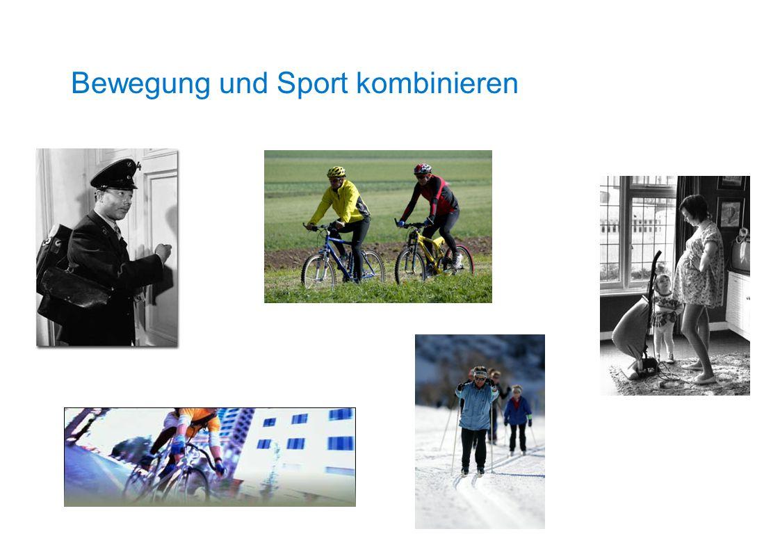 Bewegung und Sport kombinieren