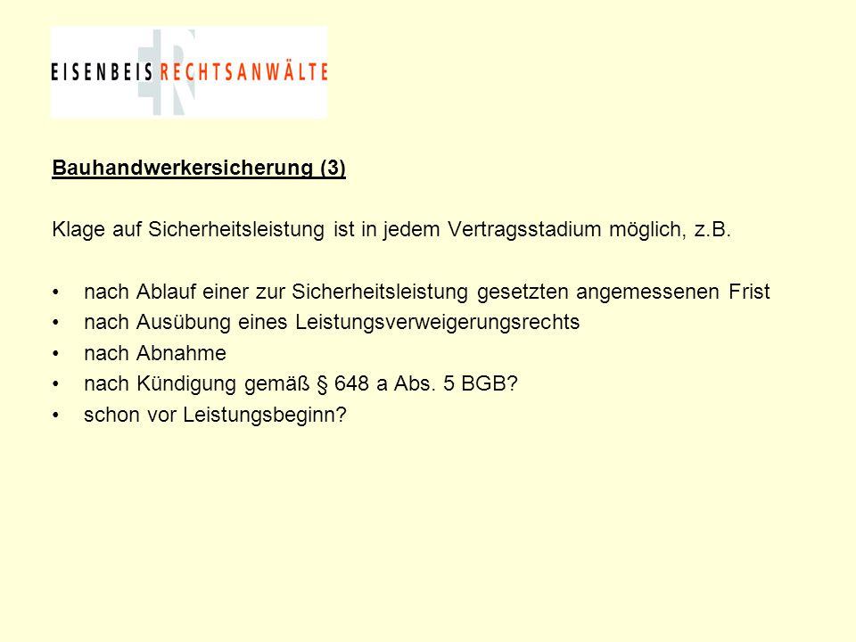 Bauhandwerkersicherung (3)