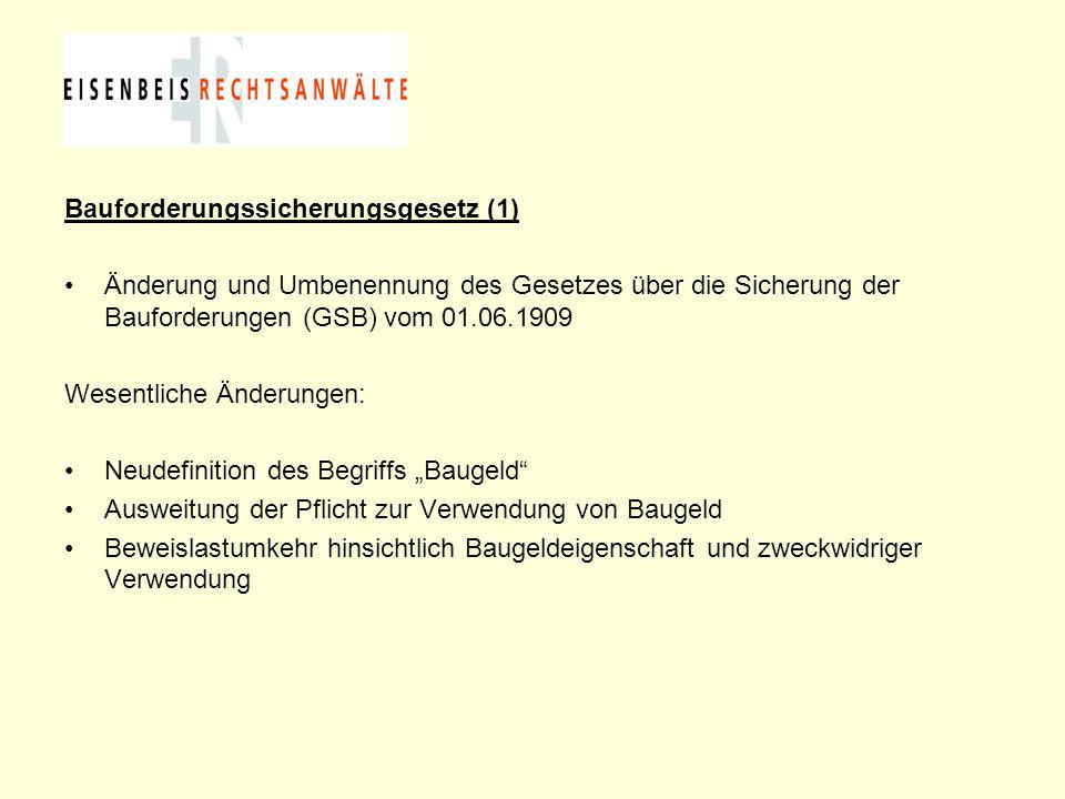 Bauforderungssicherungsgesetz (1)