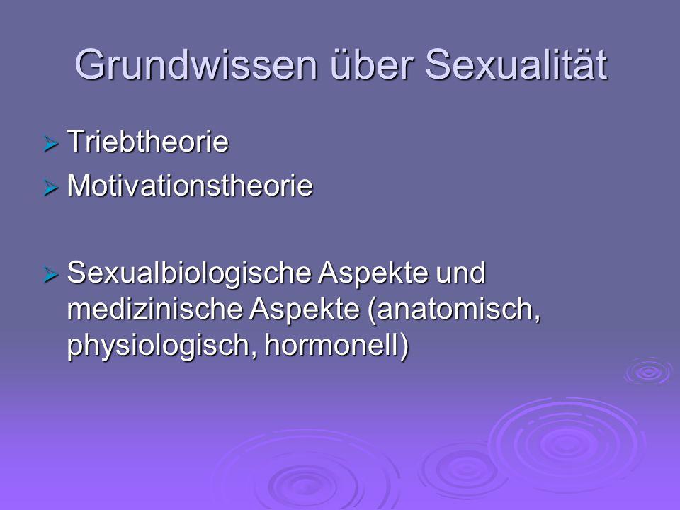 Grundwissen über Sexualität