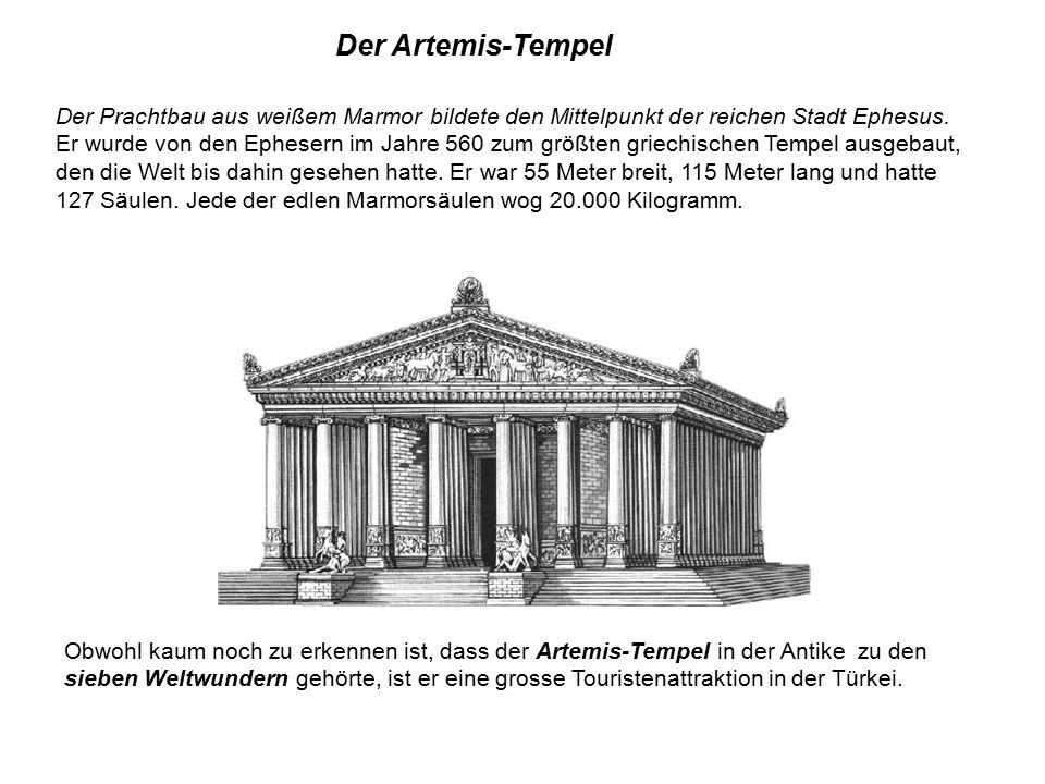 Der Artemis-Tempel