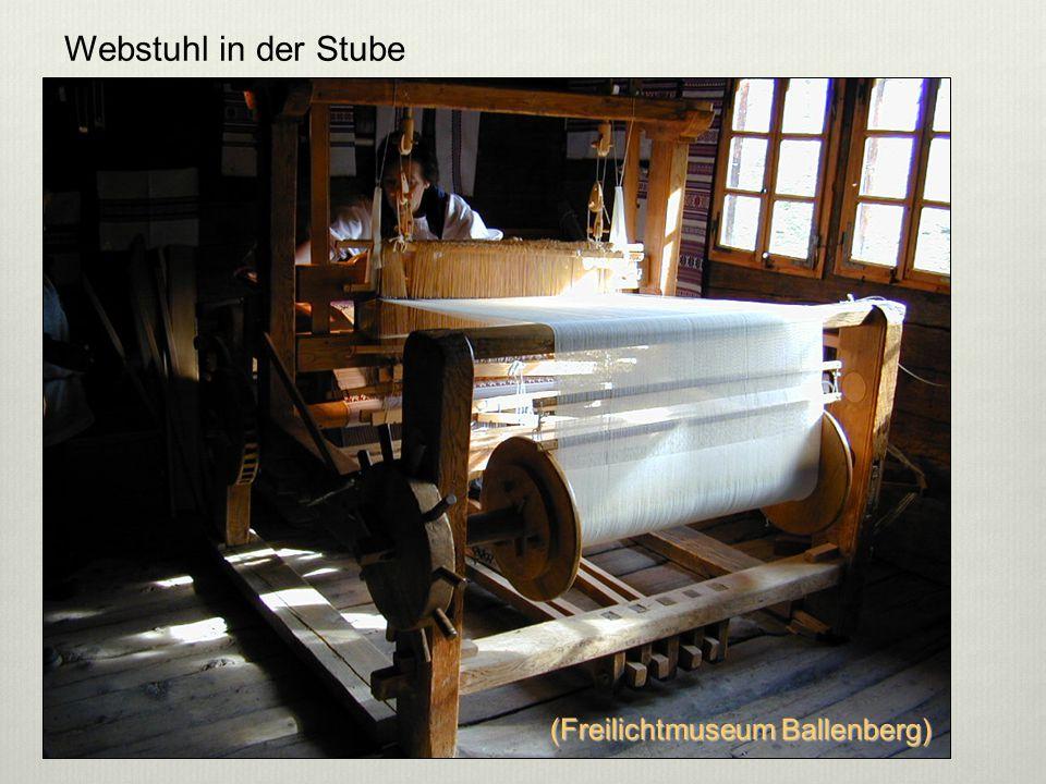 Webstuhl in der Stube (Freilichtmuseum Ballenberg) 5