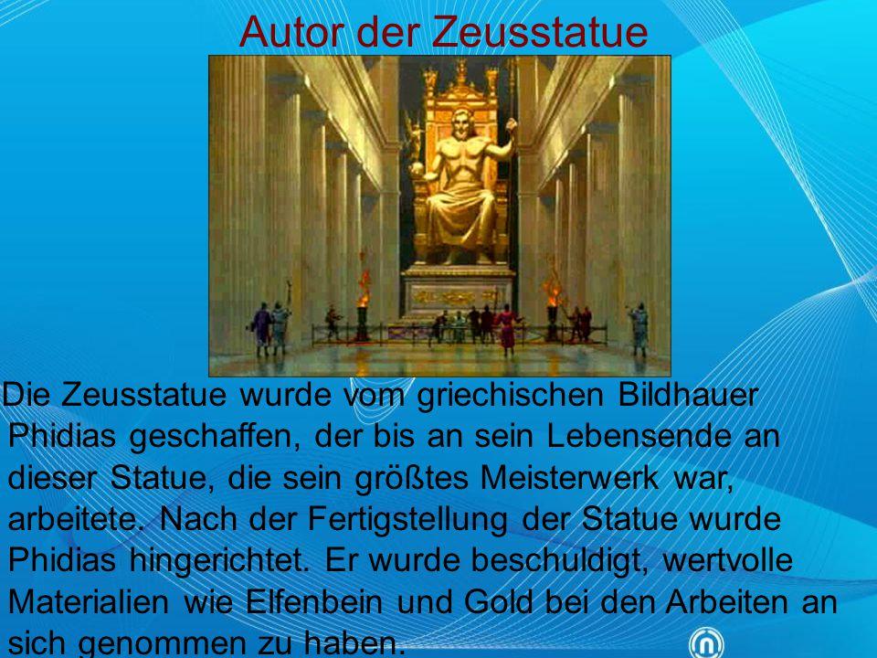 Autor der Zeusstatue