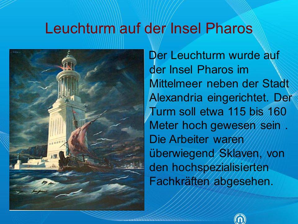 Leuchturm auf der Insel Pharos