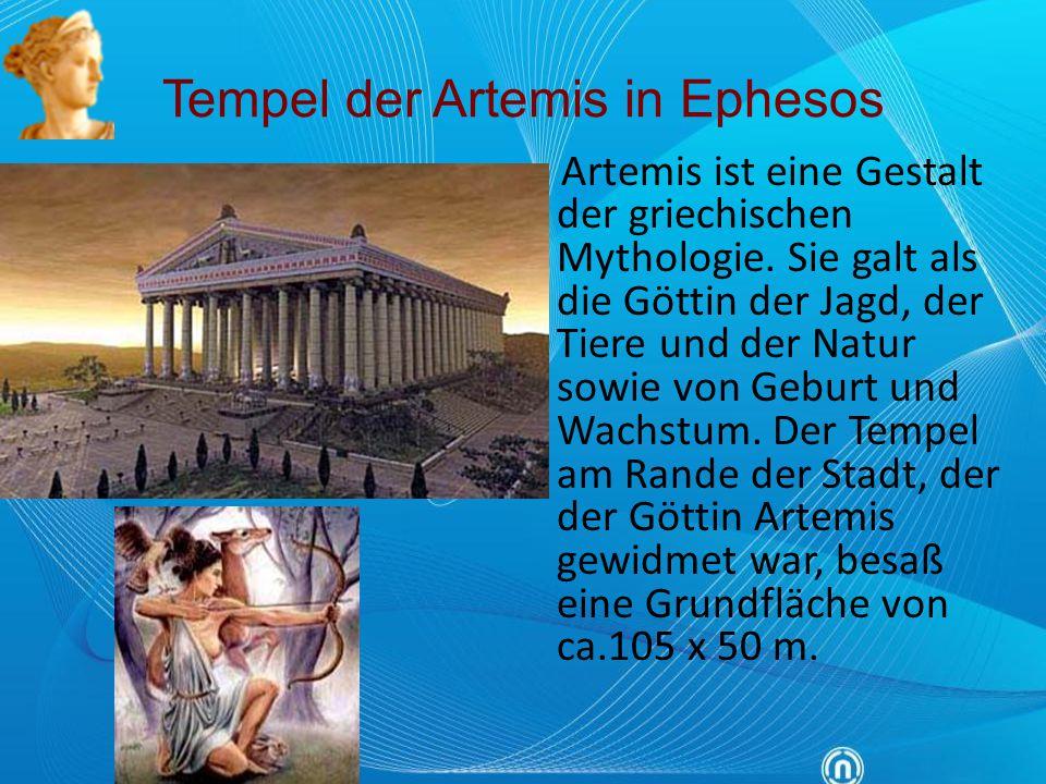 Tempel der Artemis in Ephesos