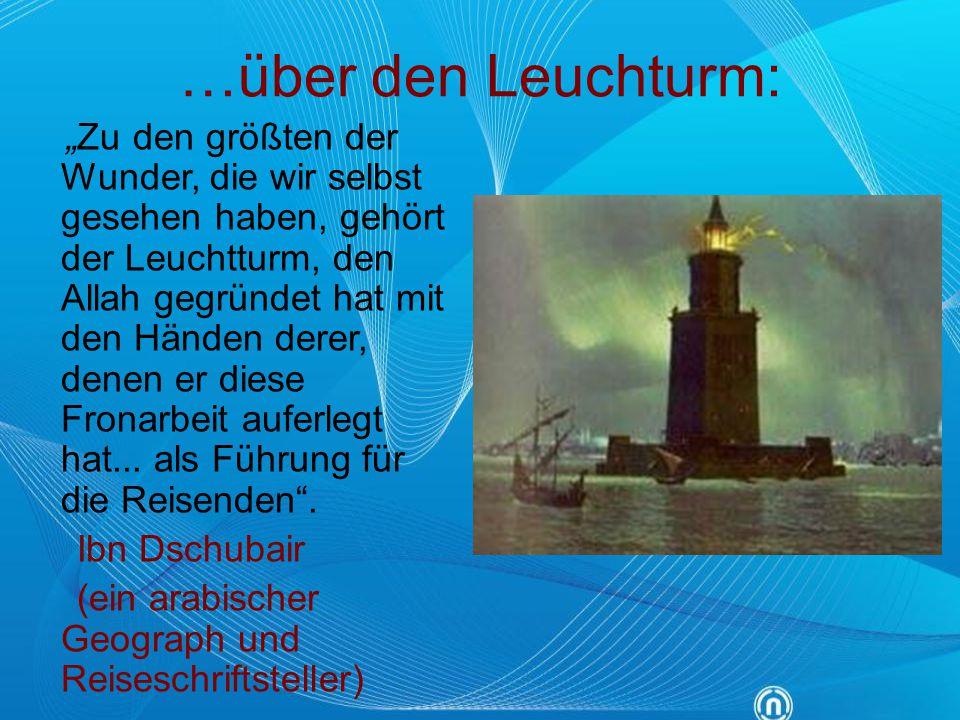 …über den Leuchturm: