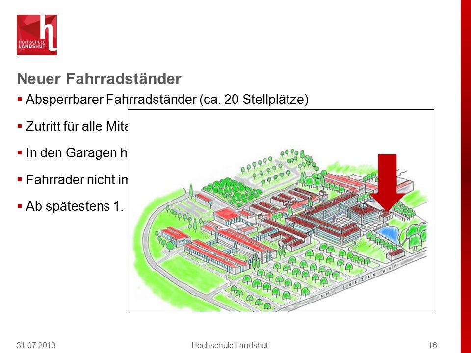 ver.di 31.07.2013 Hochschule Landshut