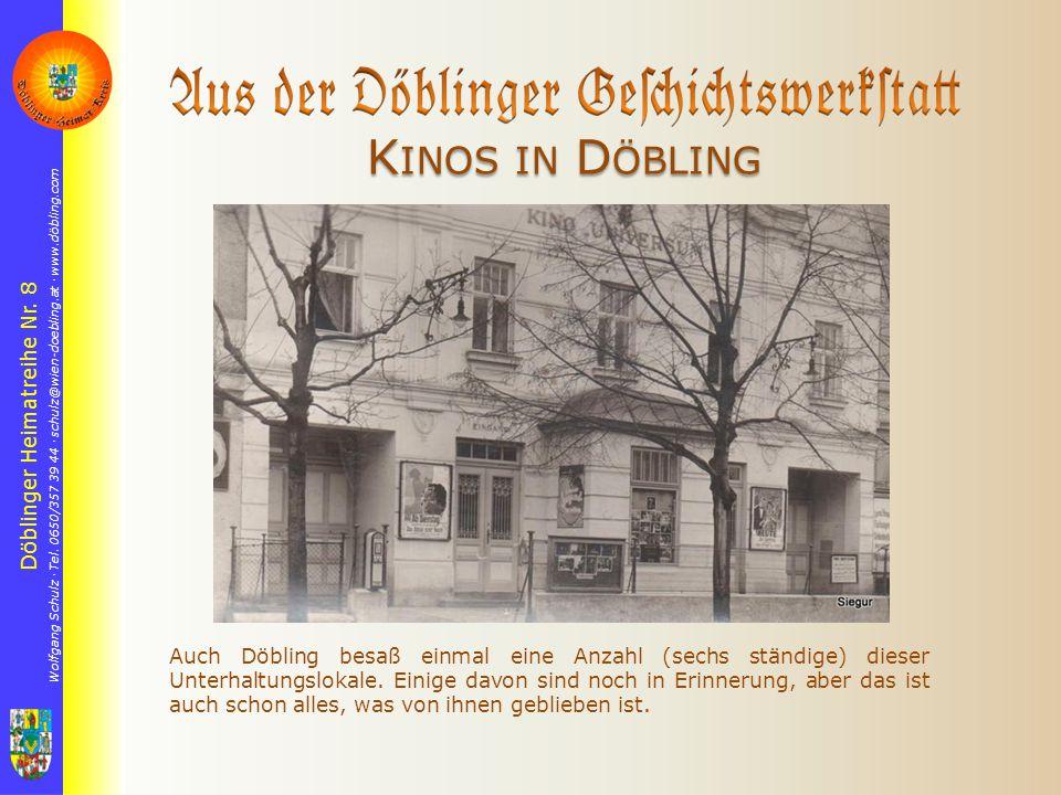 Döblinger Heimatreihe Nr. 8