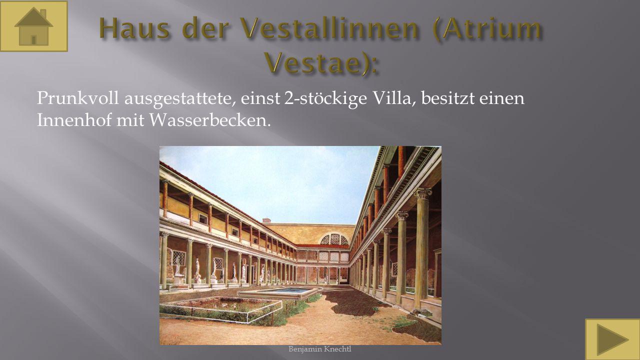 Haus der Vestallinnen (Atrium Vestae):