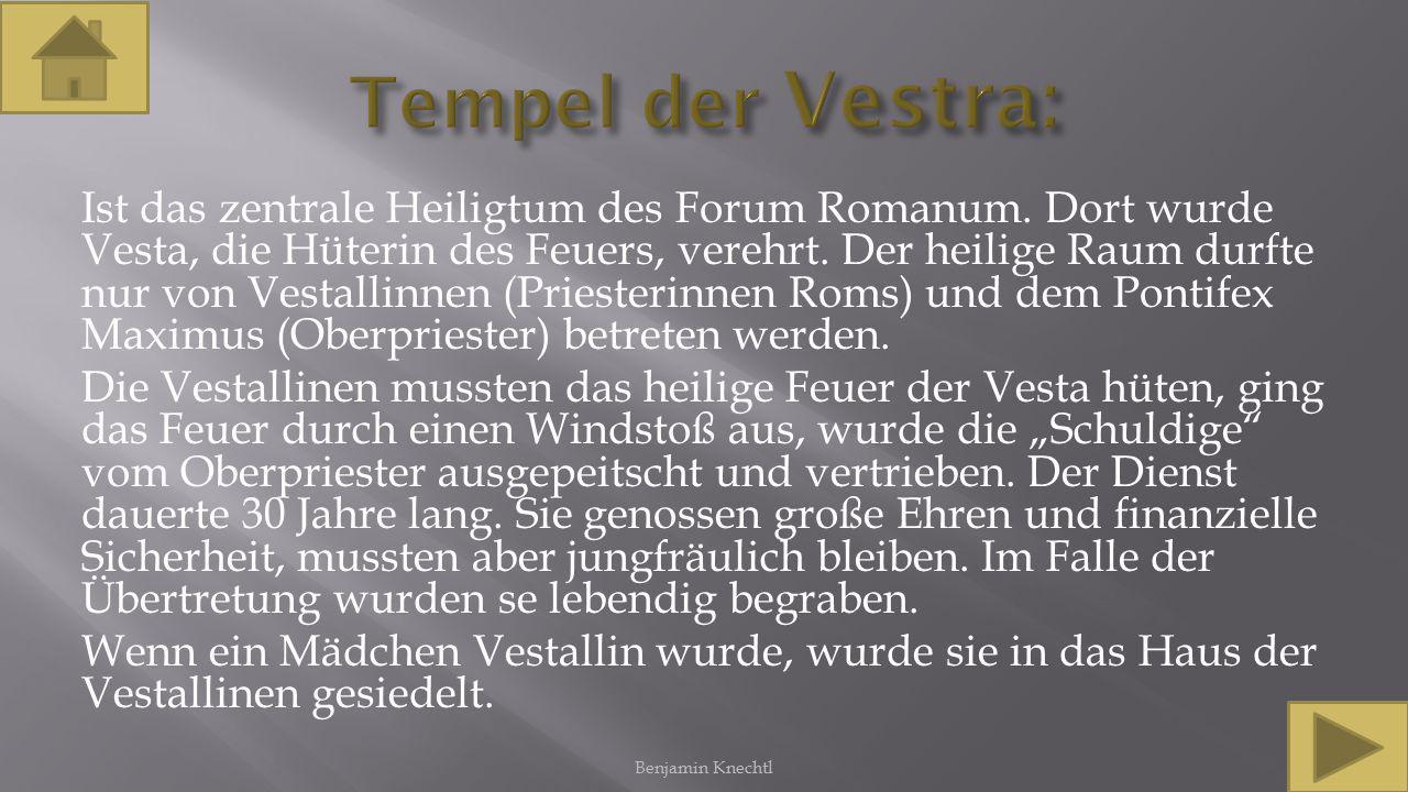 Tempel der Vestra: