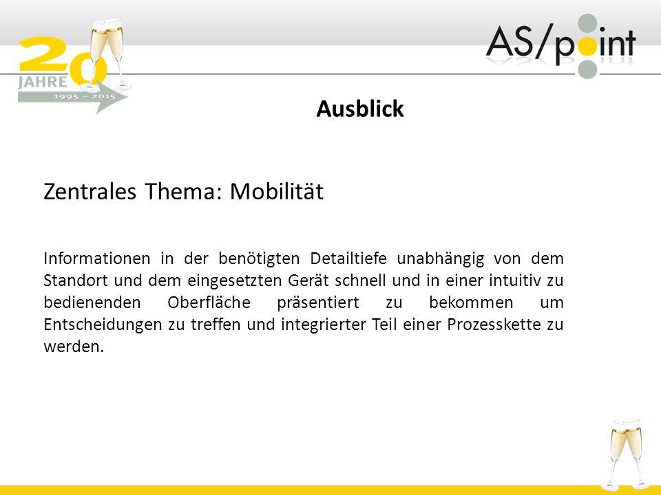 Zentrales Thema: Mobilität