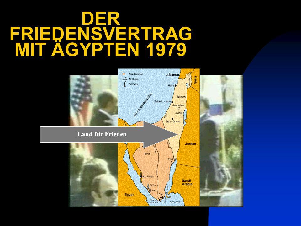DER FRIEDENSVERTRAG MIT ÄGYPTEN 1979