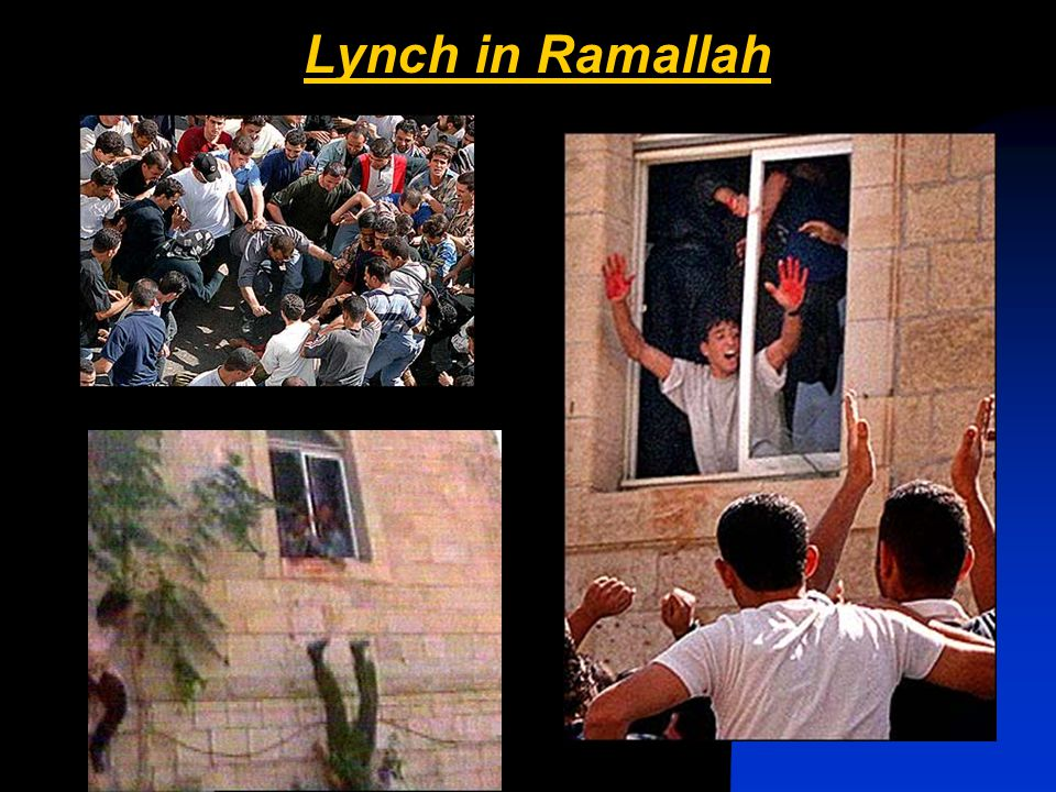 Lynch in Ramallah