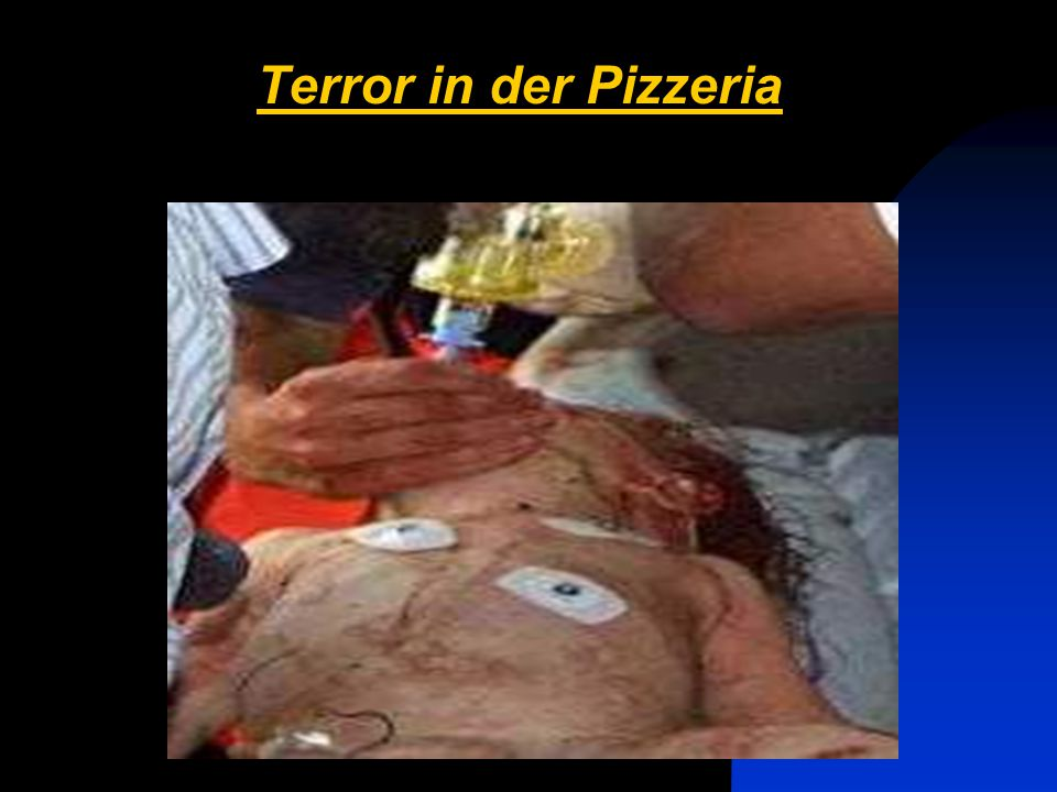 Terror in der Pizzeria