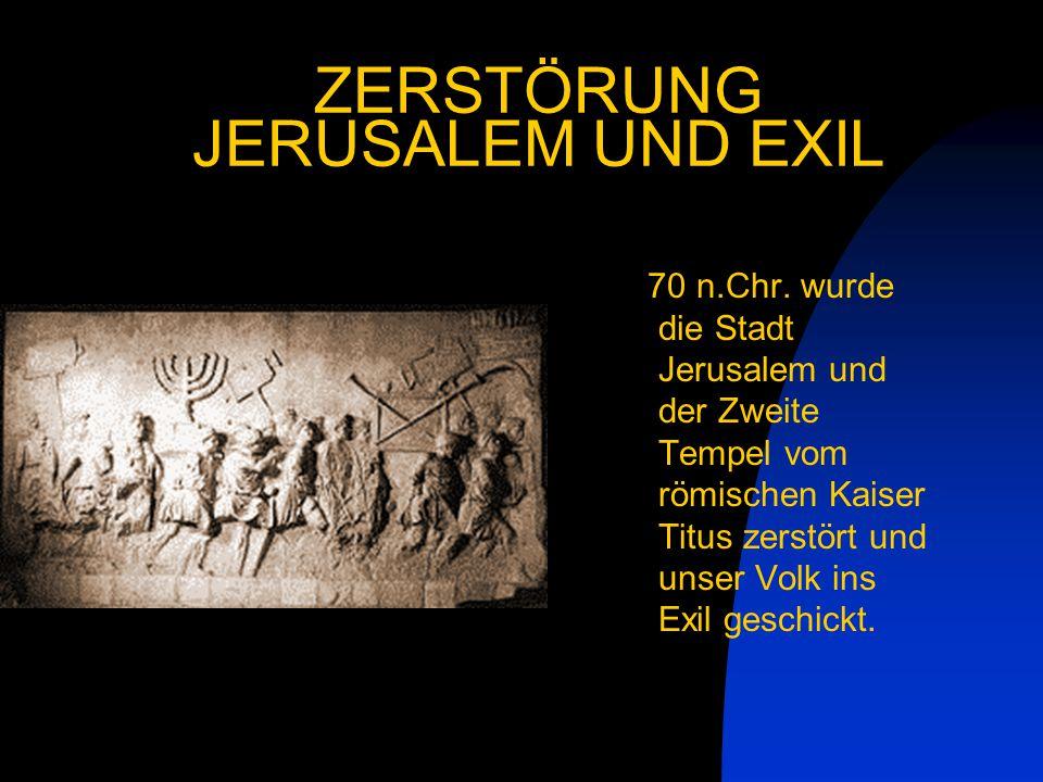 ZERSTÖRUNG JERUSALEM UND EXIL
