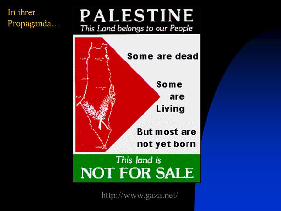 In ihrer Propaganda… http://www.gaza.net/