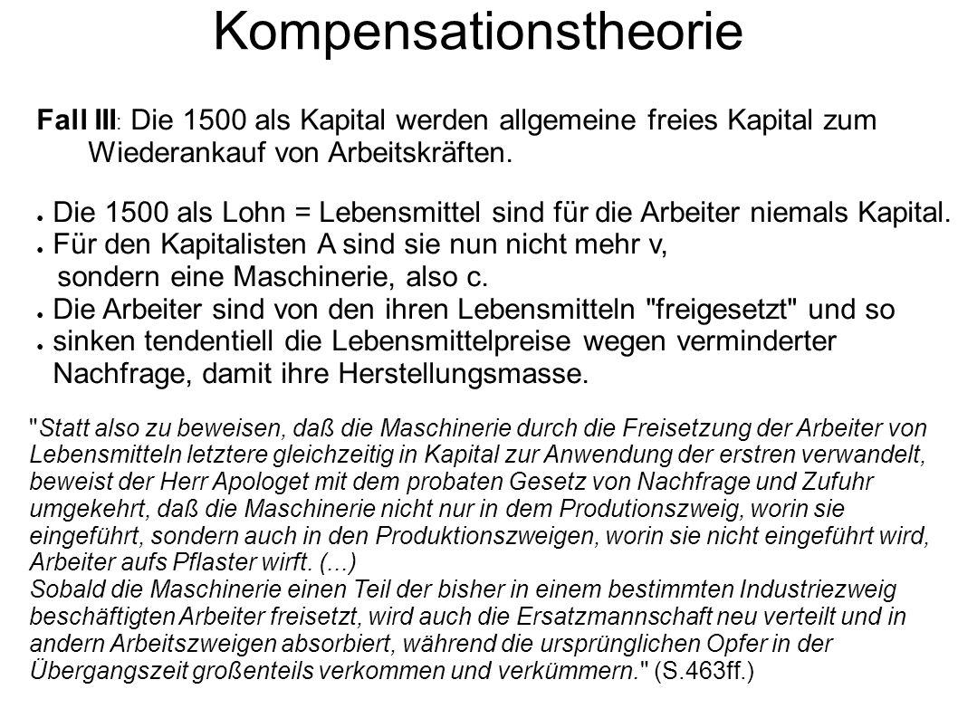 Kompensationstheorie