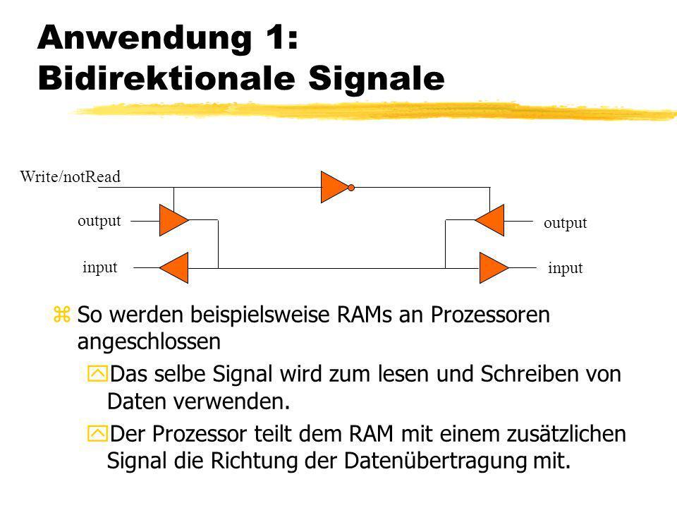 Anwendung 1: Bidirektionale Signale