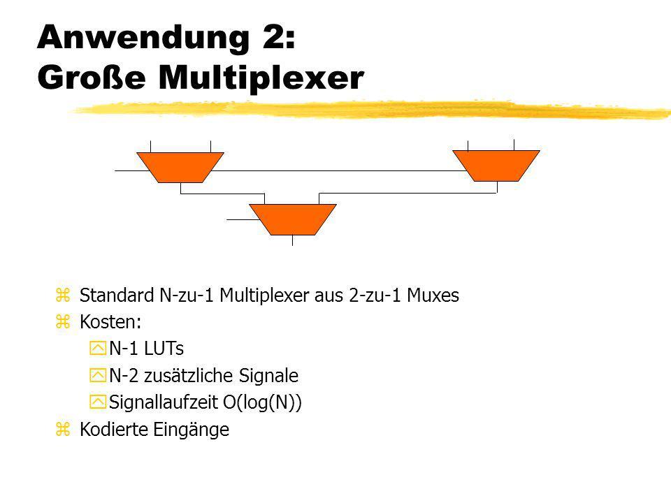 Anwendung 2: Große Multiplexer