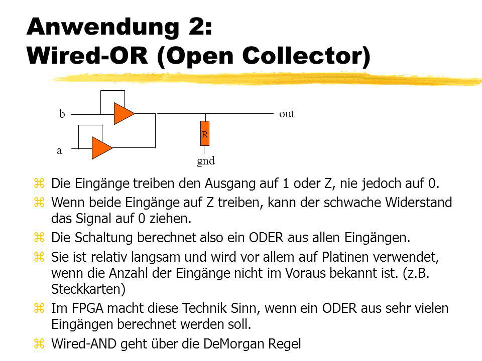 Anwendung 2: Wired-OR (Open Collector)