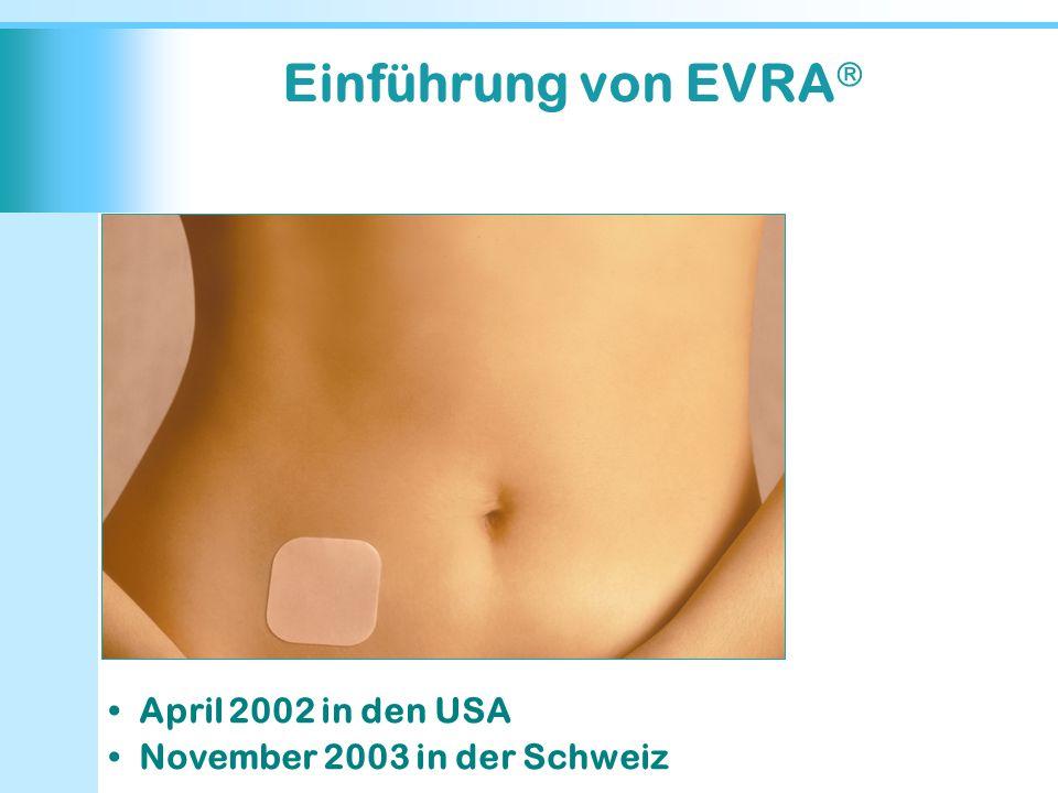 Einführung von EVRA April 2002 in den USA
