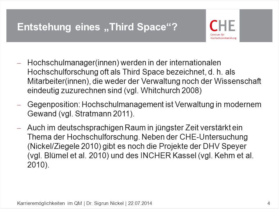 """Entstehung eines """"Third Space"""