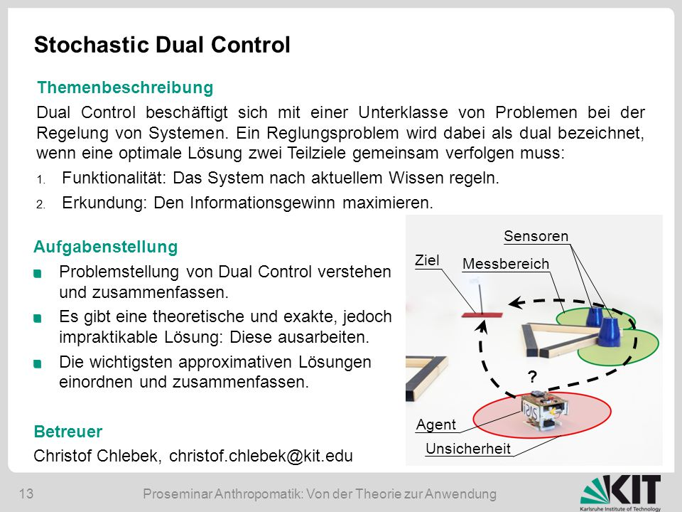 Stochastic Dual Control