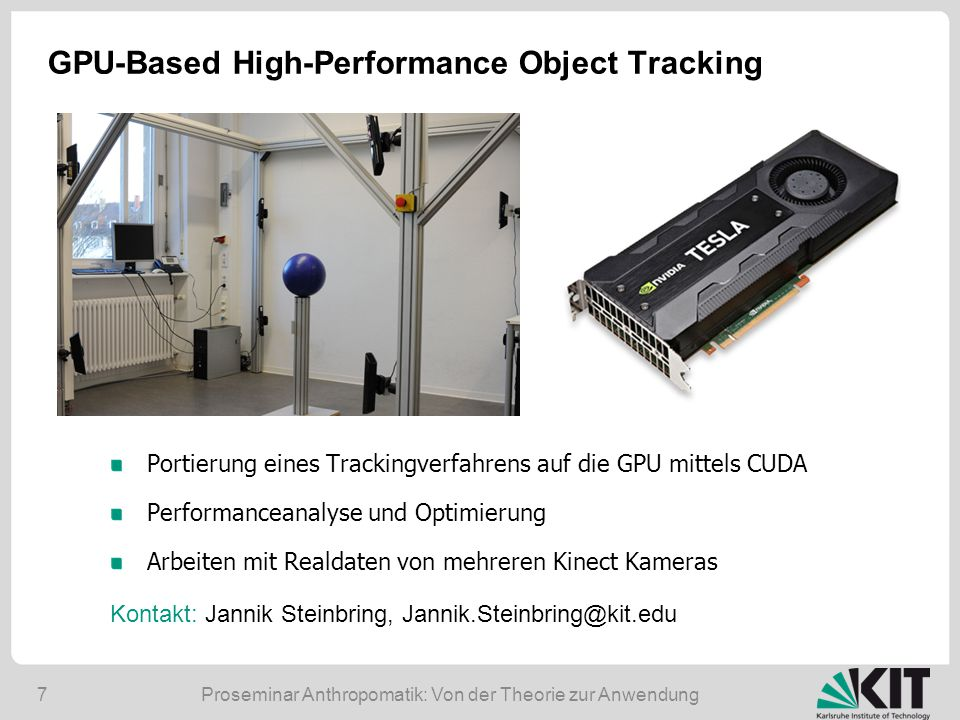 GPU-Based High-Performance Object Tracking
