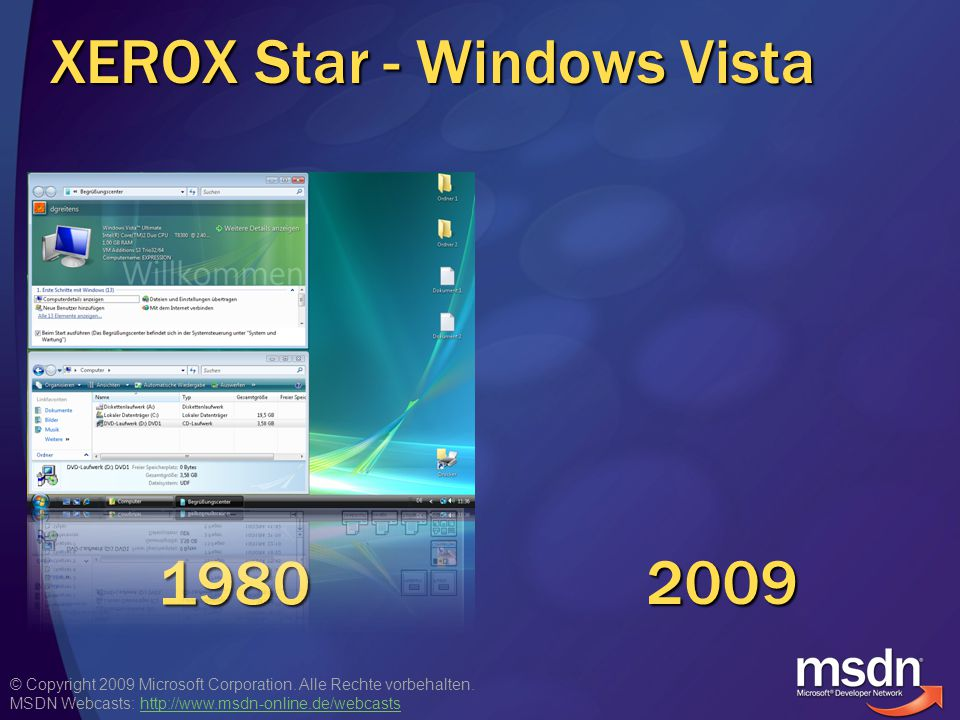 XEROX Star - Windows Vista