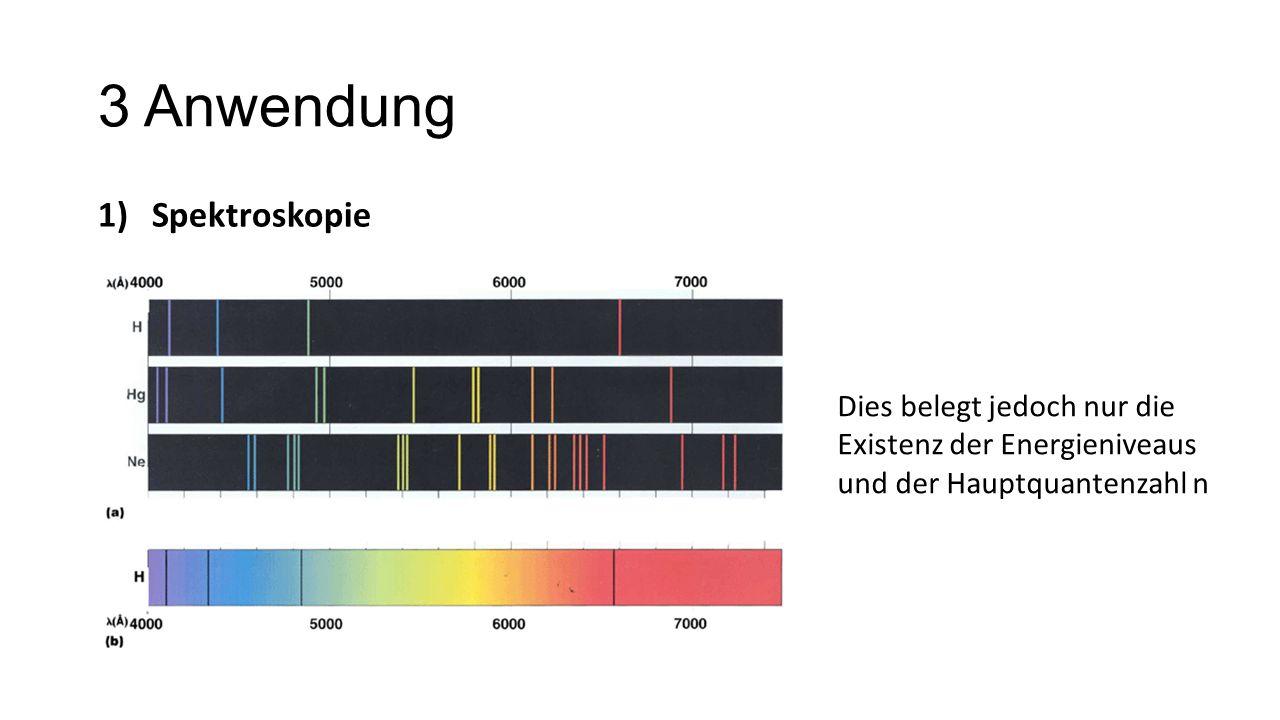 3 Anwendung Spektroskopie