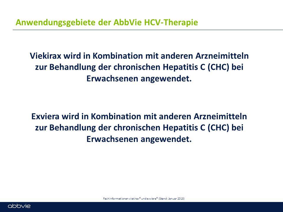 Anwendungsgebiete der AbbVie HCV-Therapie