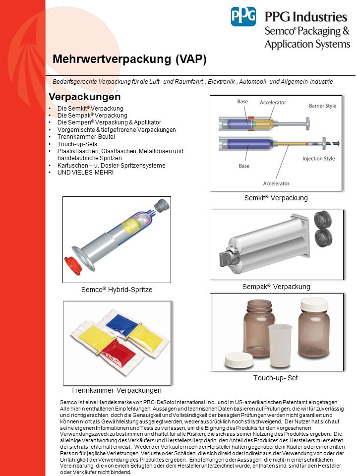 Mehrwertverpackung (VAP)