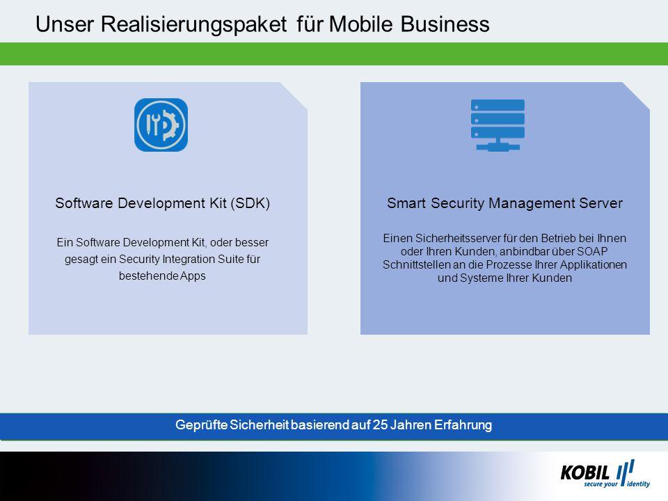 Unser Realisierungspaket für Mobile Business