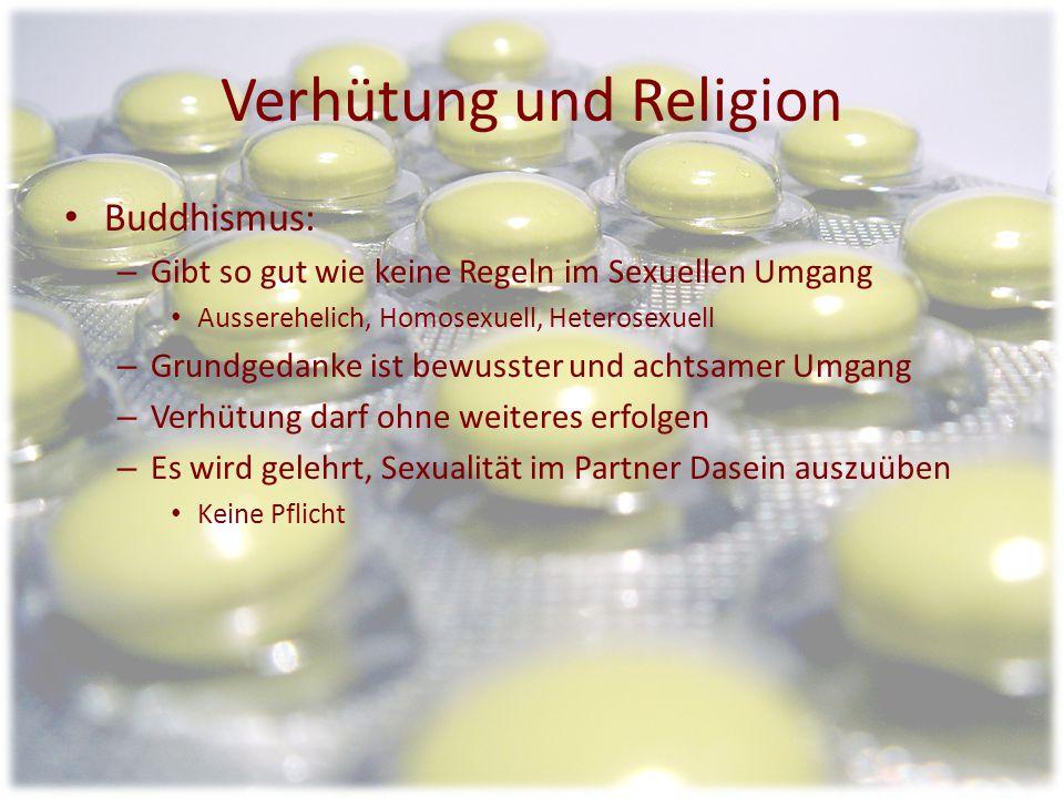 Verhütung und Religion