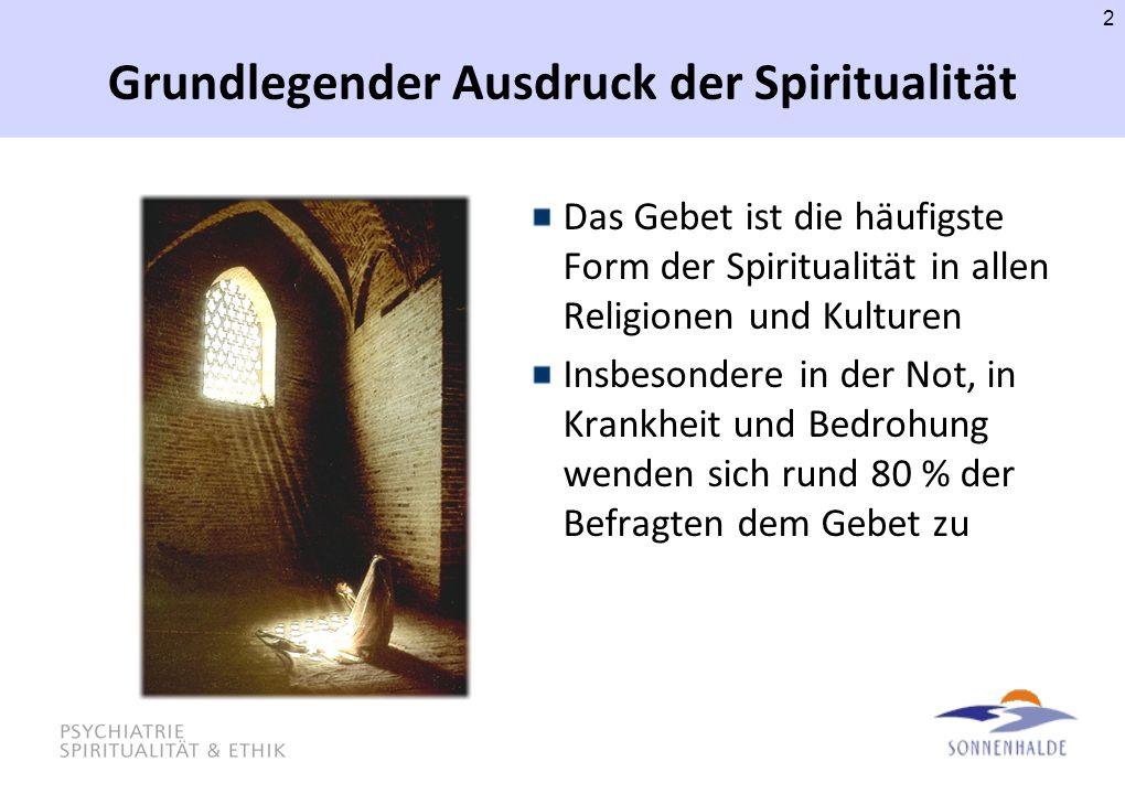 Grundlegender Ausdruck der Spiritualität