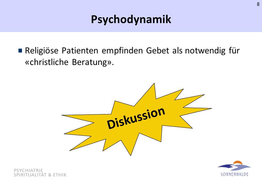 Diskussion Psychodynamik