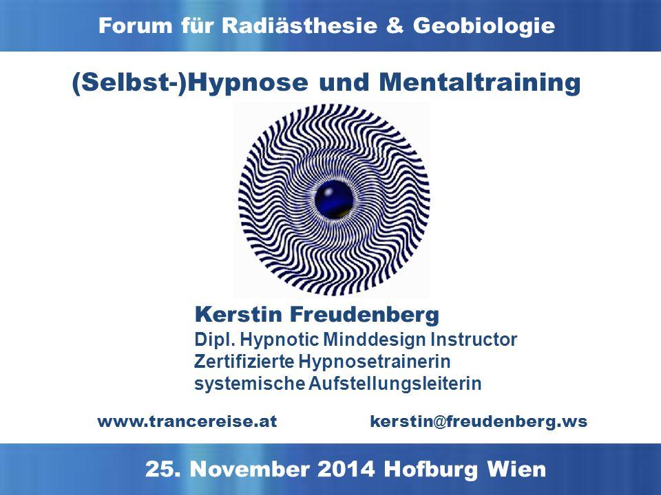 (Selbst-)Hypnose und Mentaltraining