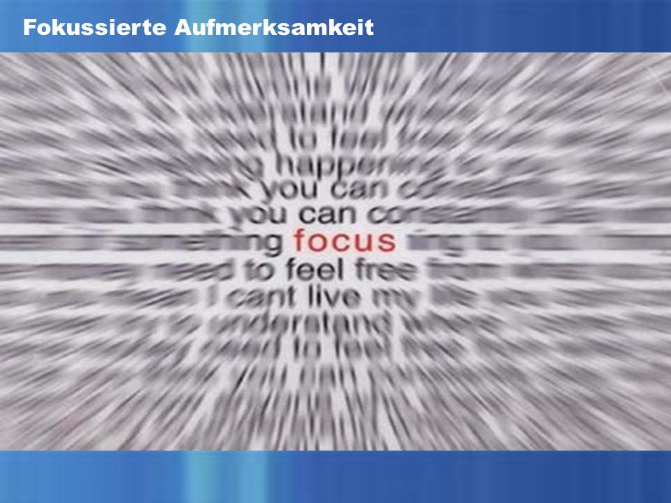Fokussierte Aufmerksamkeit