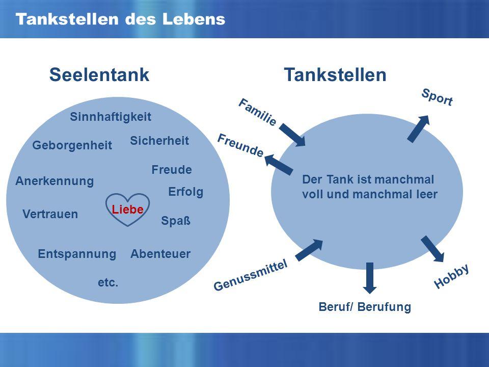 Seelentank Tankstellen Tankstellen des Lebens Sport Familie