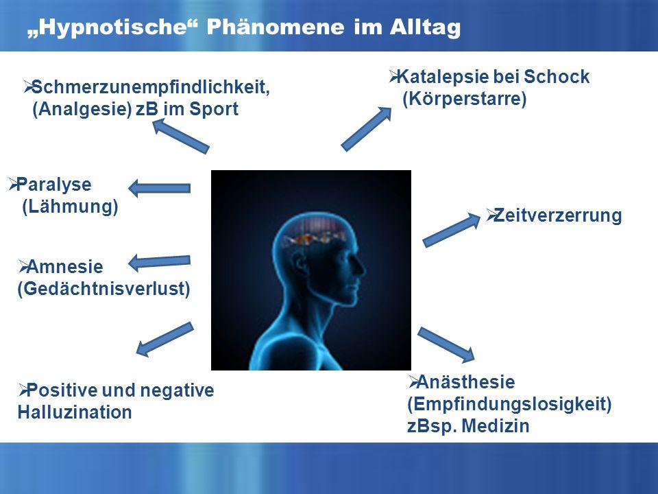 """""""Hypnotische Phänomene im Alltag"""