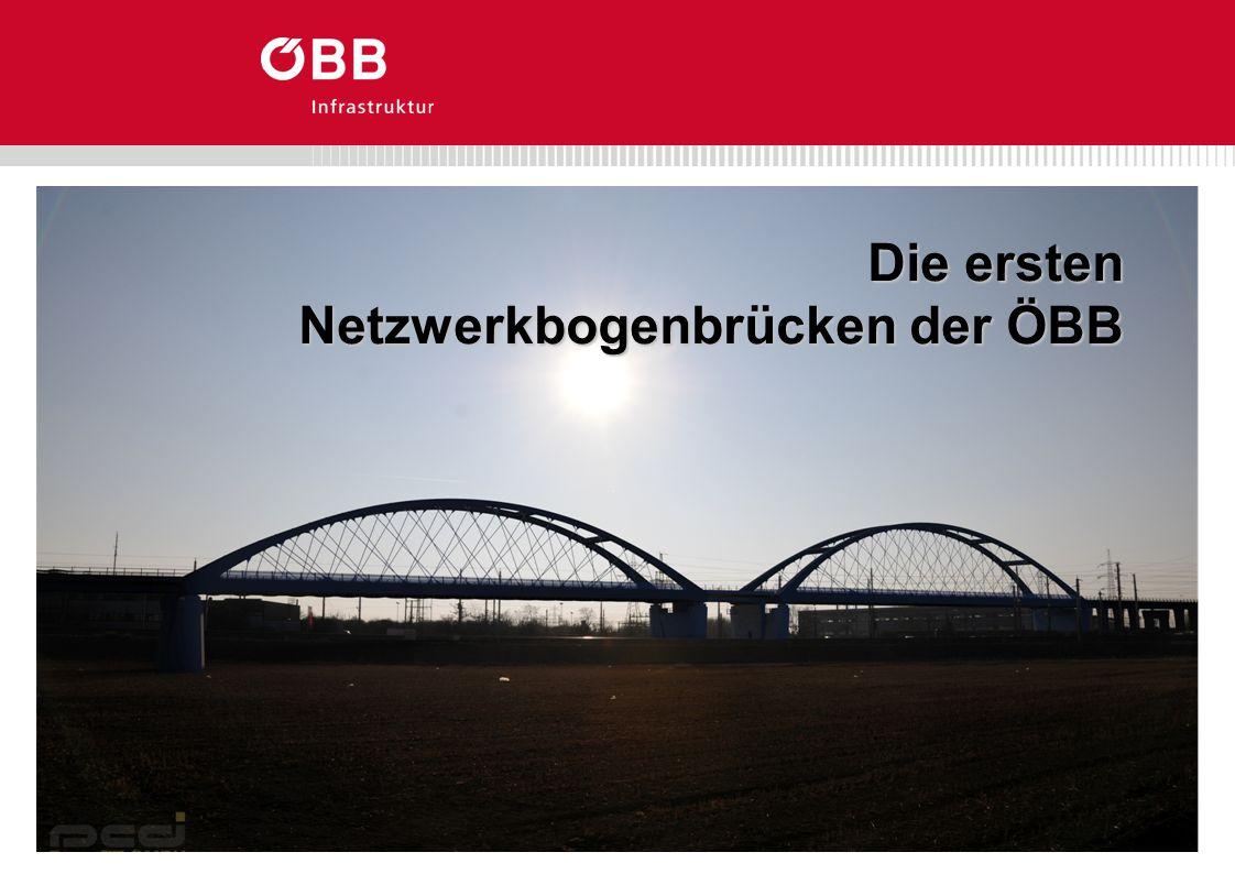 Die ersten Netzwerkbogenbrücken der ÖBB
