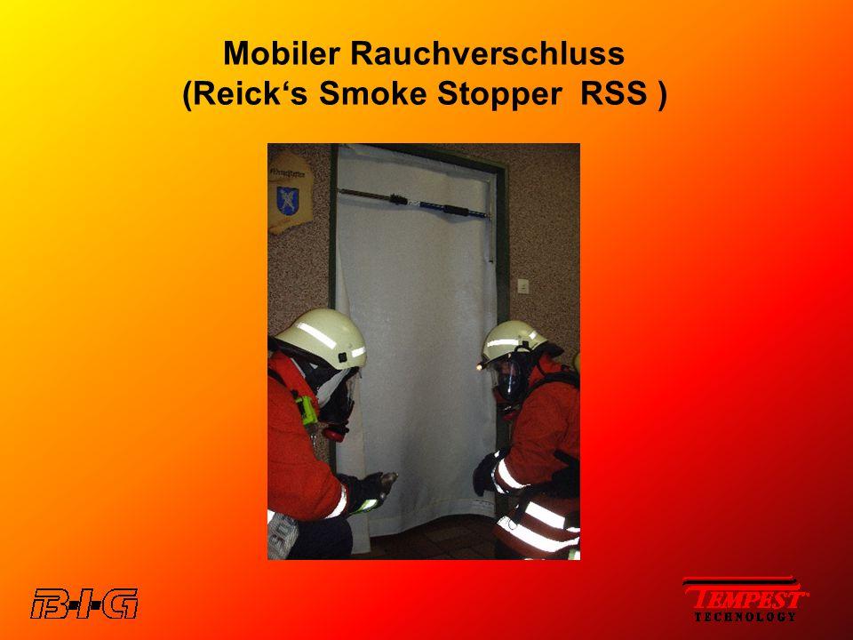 Mobiler Rauchverschluss (Reick's Smoke Stopper RSS )