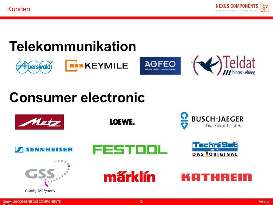 Telekommunikation Consumer electronic