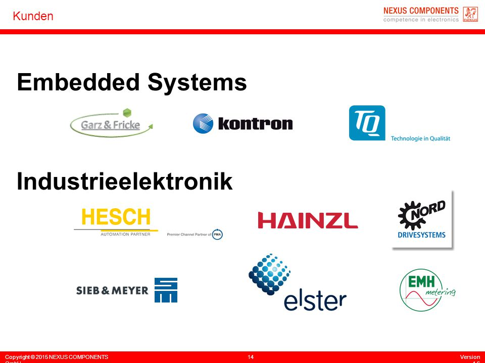 Embedded Systems Industrieelektronik