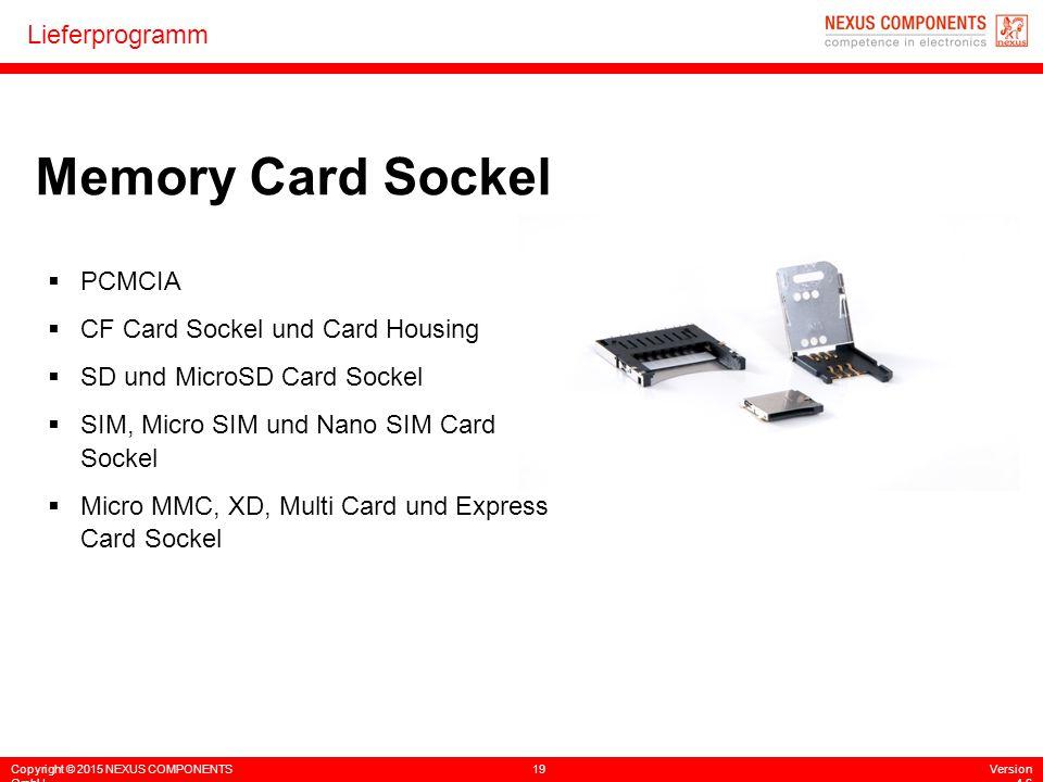 Memory Card Sockel PCMCIA CF Card Sockel und Card Housing