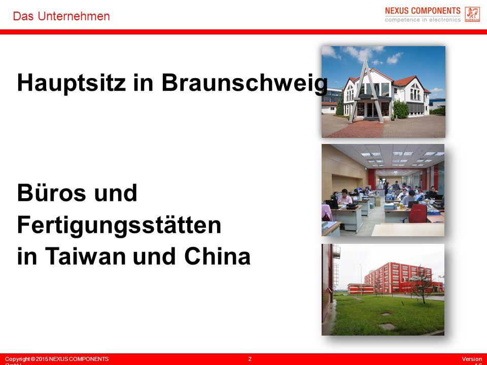 Hauptsitz in Braunschweig