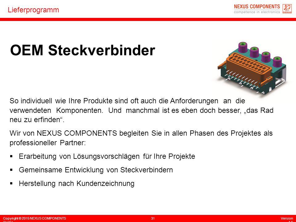 OEM Steckverbinder