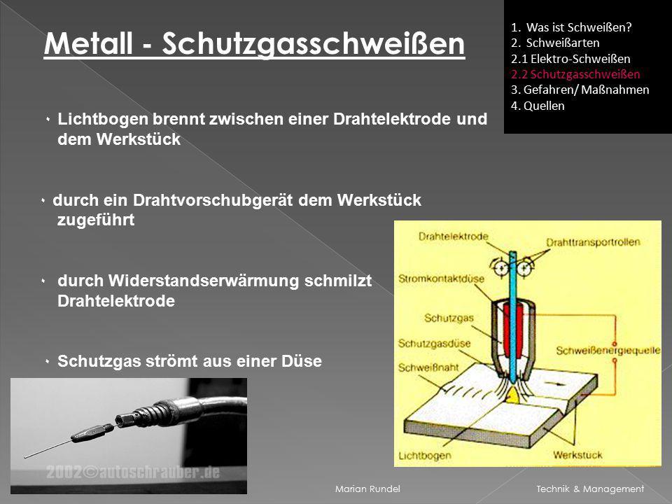 Metall - Schutzgasschweißen