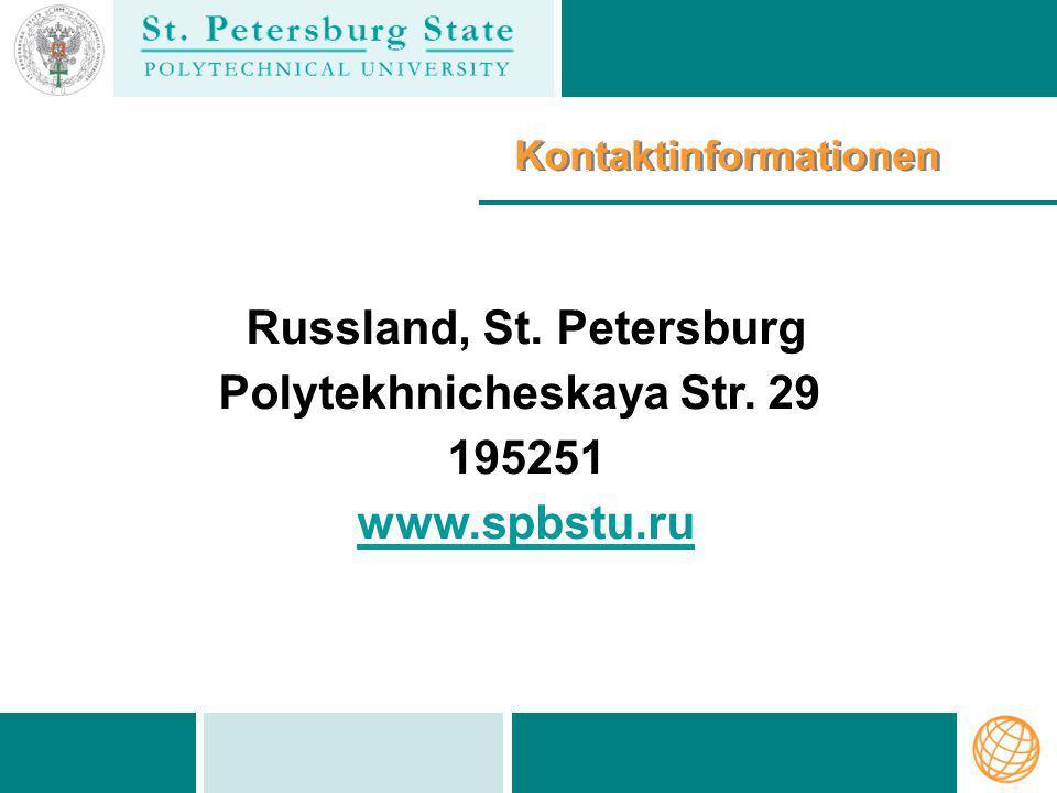 Russland, St. Petersburg Polytekhnicheskaya Str. 29