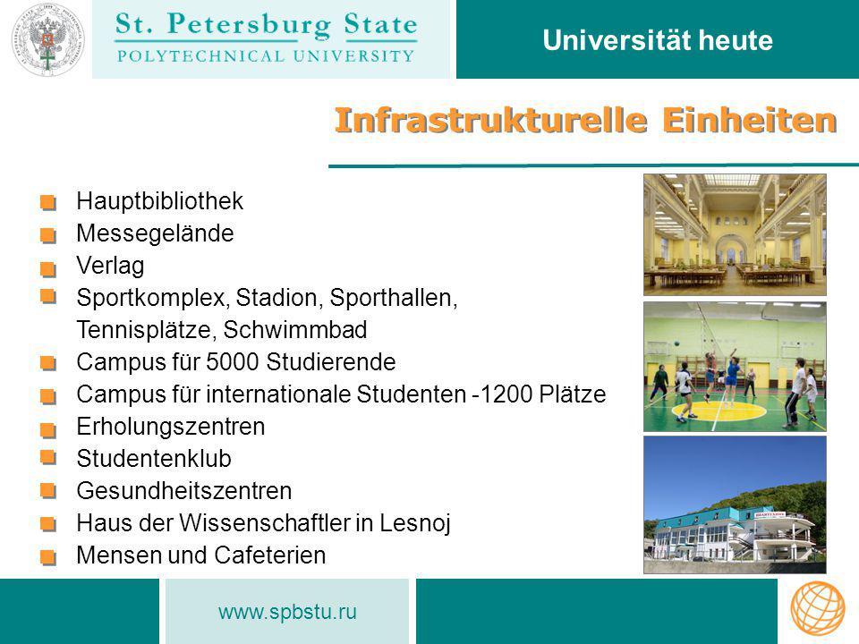 Infrastrukturelle Einheiten